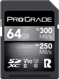 ProGrade Digital SD Card V90 (64GB)