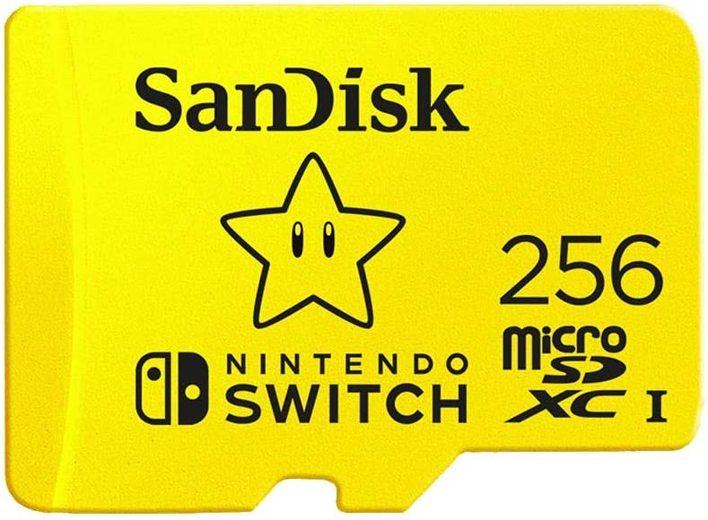 SanDisk 256GB MicroSDXC UHS-I Memory Card