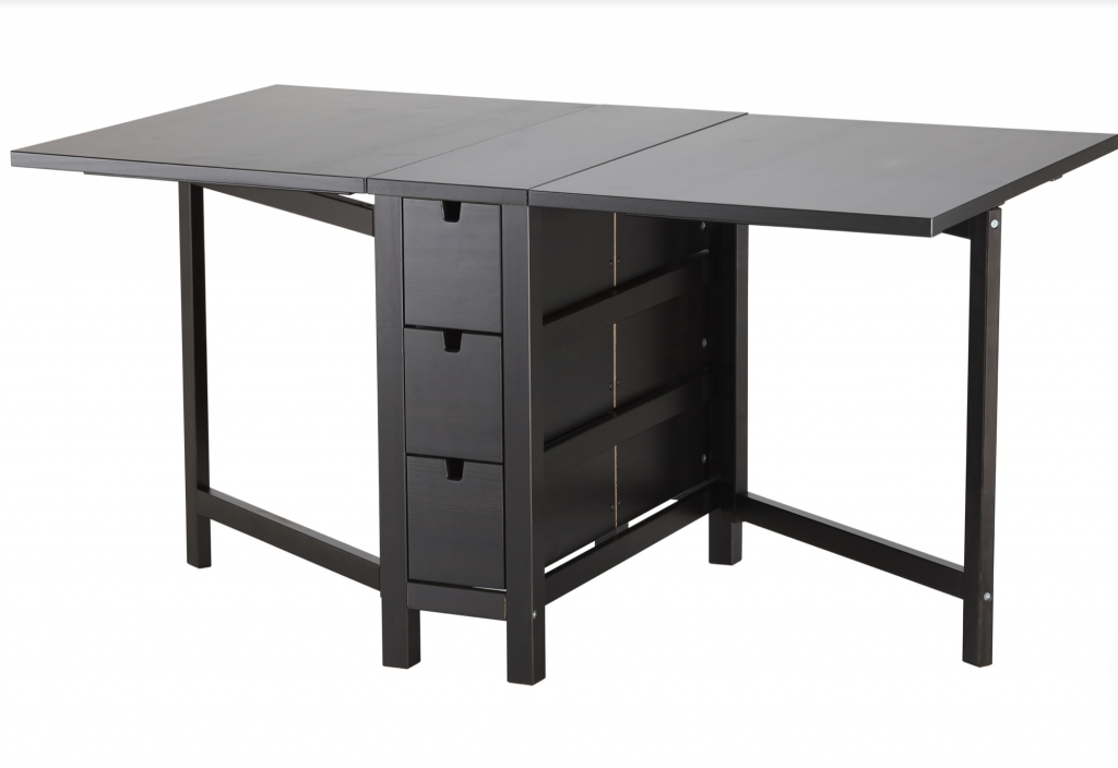 Fold down desk