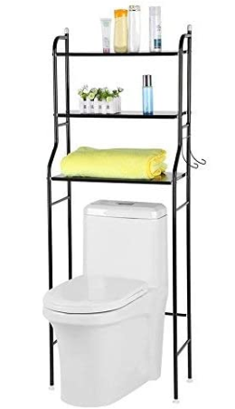 Liusin 3-Tier Bathroom Shelf