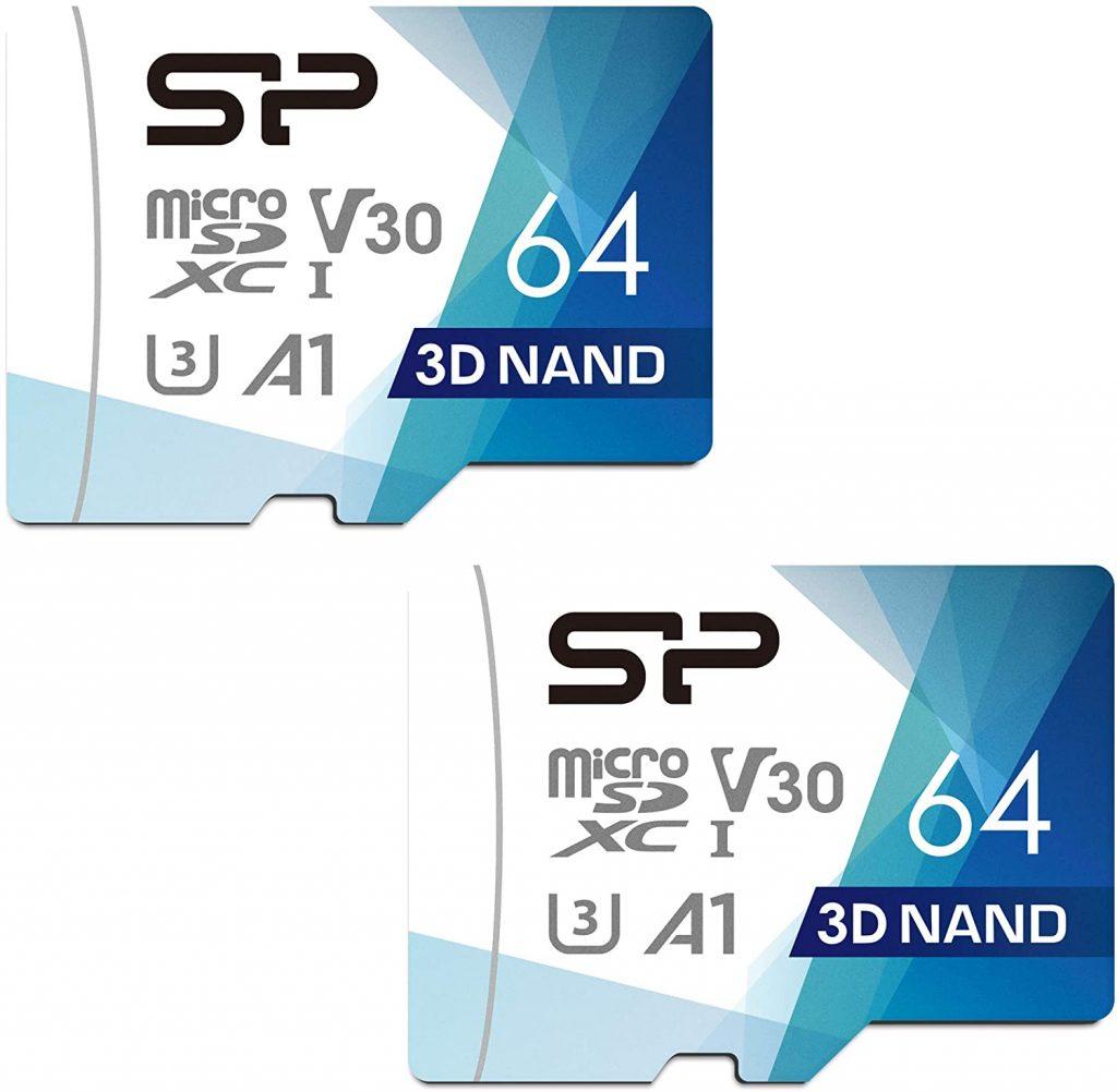 Silicon Power 64GB Superior Pro Micro SDXC UHS-I (U3) MicroSD Card