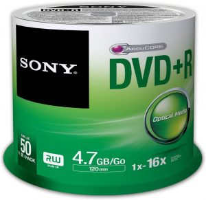 Sony 50DPR47SP 16x DVD+R 4.7GB