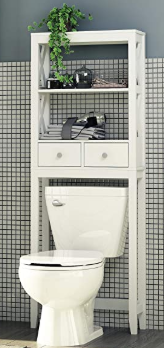 Spirich Home Modern X- Frame Bathroom Shelf