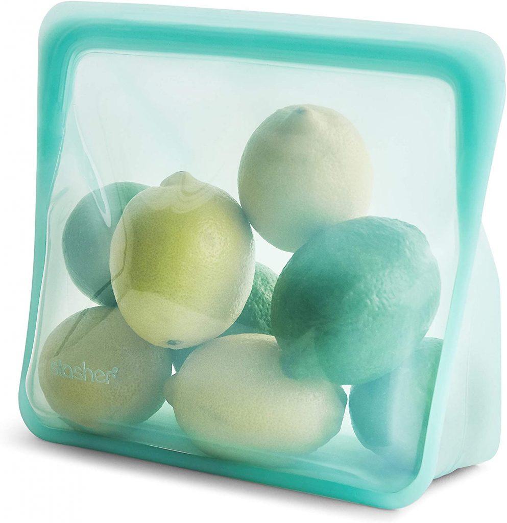 Stasher 100% Silicone Reusable Food Storage Bag