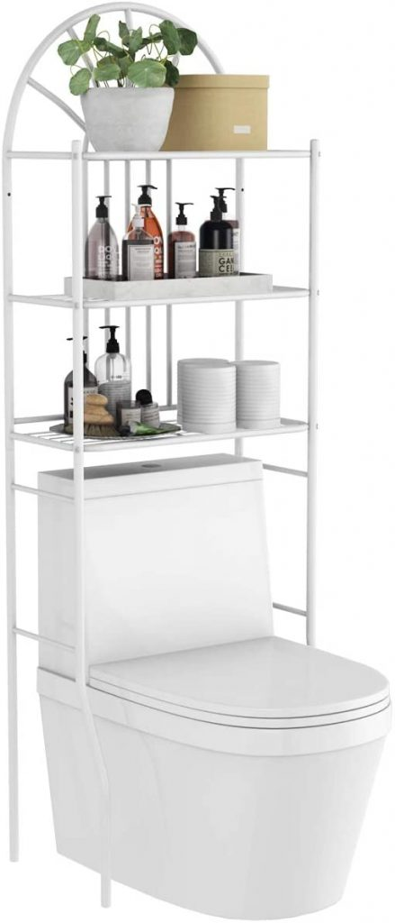 Tangkula 3-Tier Over The Toilet Storage Rack