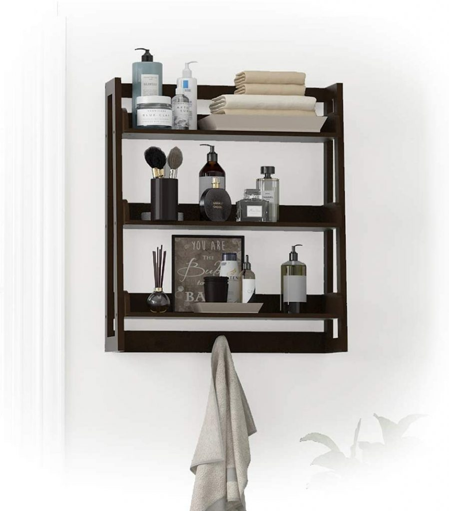 UTEX 3 Tier Bathroom Shelf