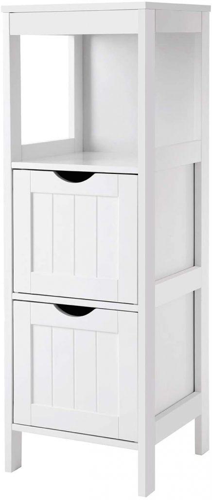 VASAGLE Floor Cabinet Multifunctional Bathroom Storage Organizer