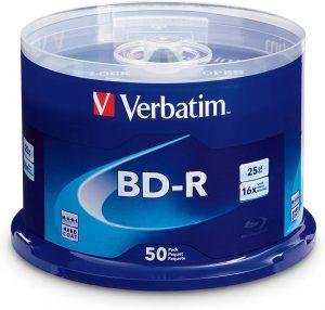 Verbatim BD-R 25GB 16X
