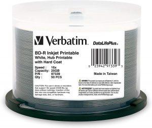 Verbatim BD-R 25GB 16X DataLifePlus