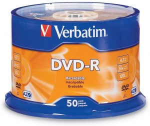Verbatim DVD-R 4.7GB 16x