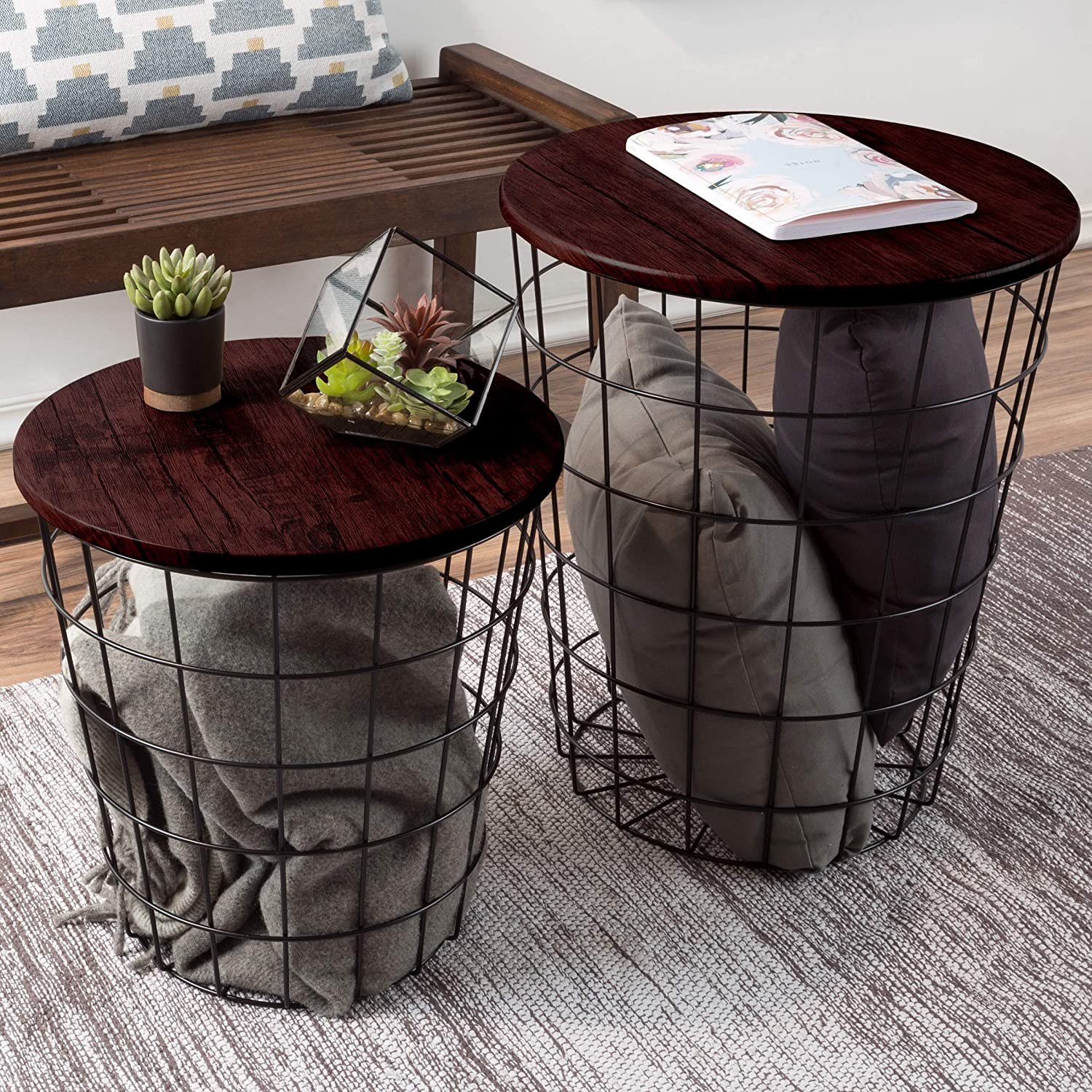 Picture of: 15 Stunning Wire Basket Storage Ideas 2020 Storables