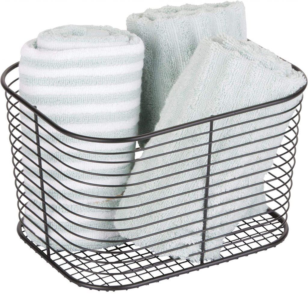Metal wire basket - www.storables.com