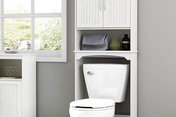 35 Stunning Bathroom Storage Over the Toilet Ideas