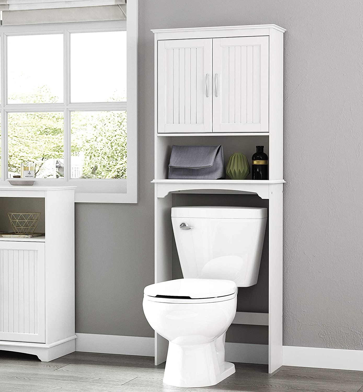 35 Stunning Bathroom Storage Over, Bathroom Toilet Storage