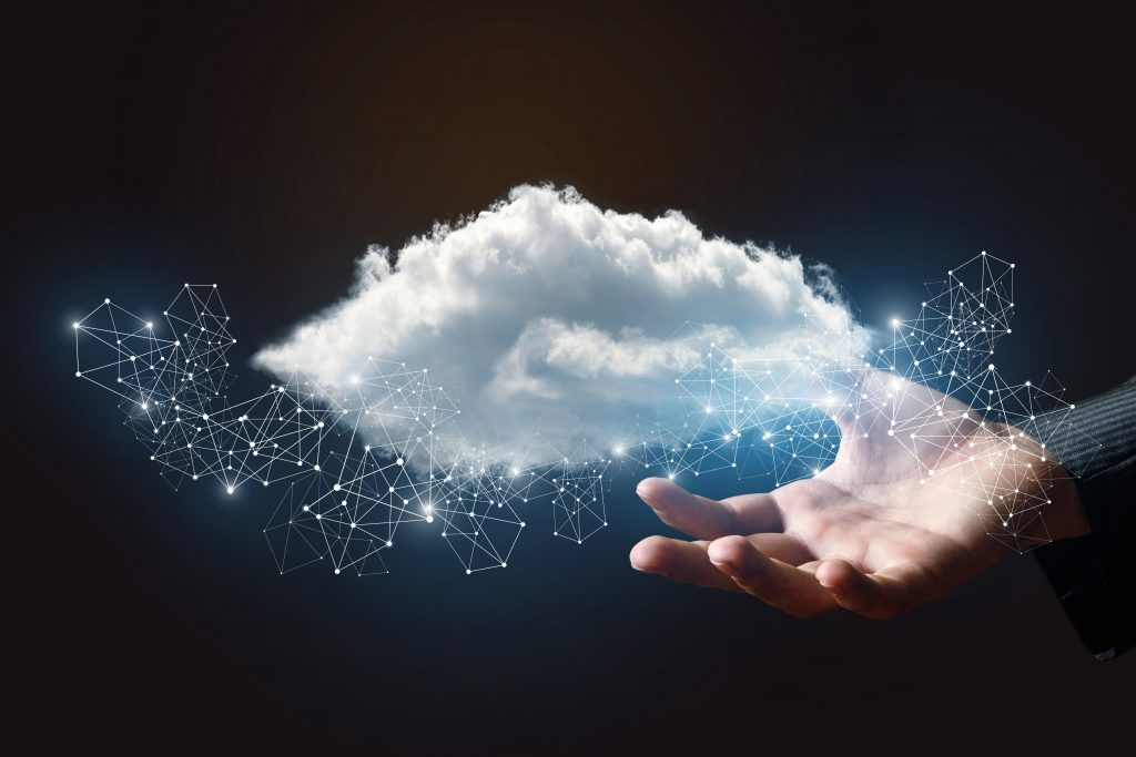 Data cloud in the hand
