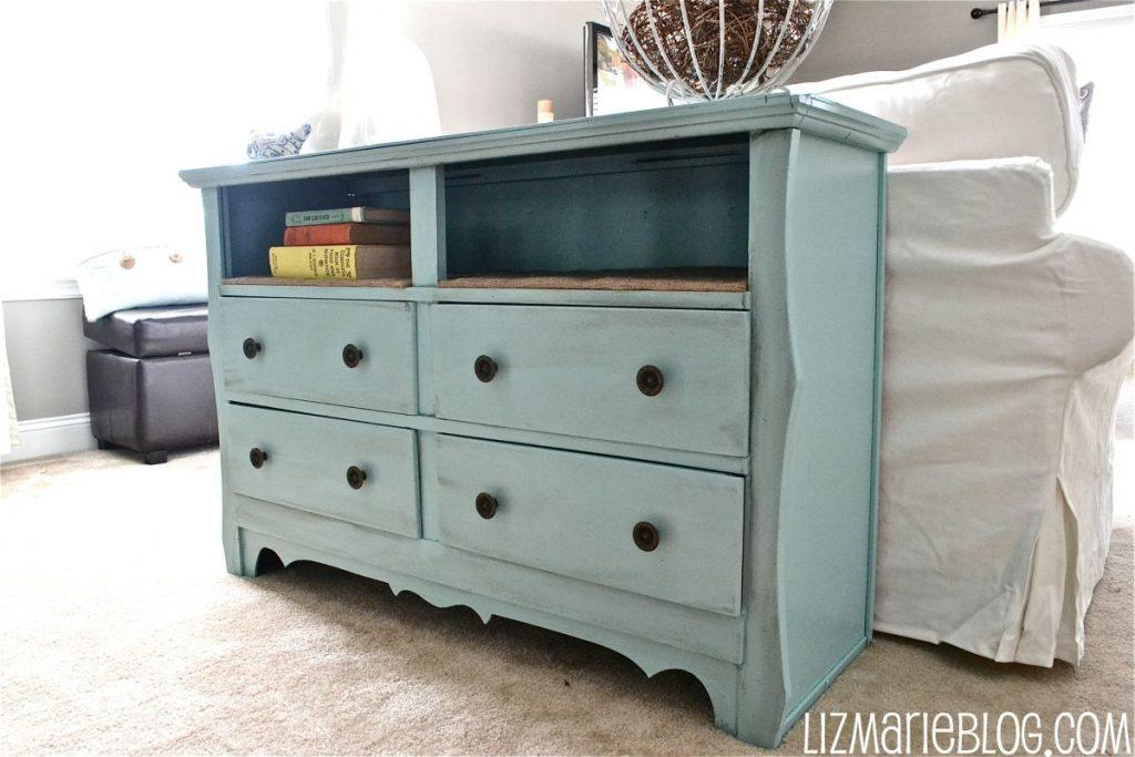 dresser shelf