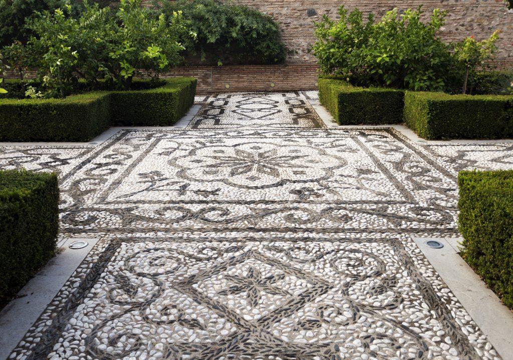 Alhambra Kieselmosaik