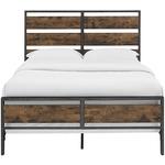 rustic diy bed