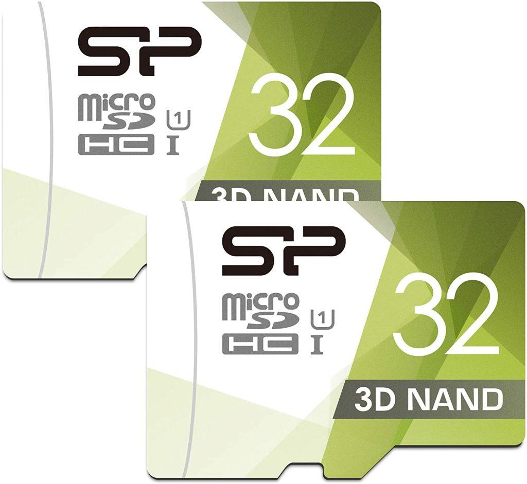Silicon Power 32GB Dual Pack High-Speed MicroSD Card