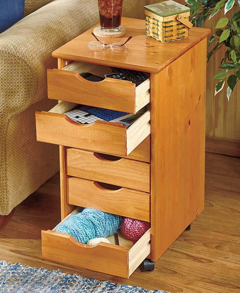 Adeptus USA, Inc. The Lakeside Collection 6-Drawer Wood Storage