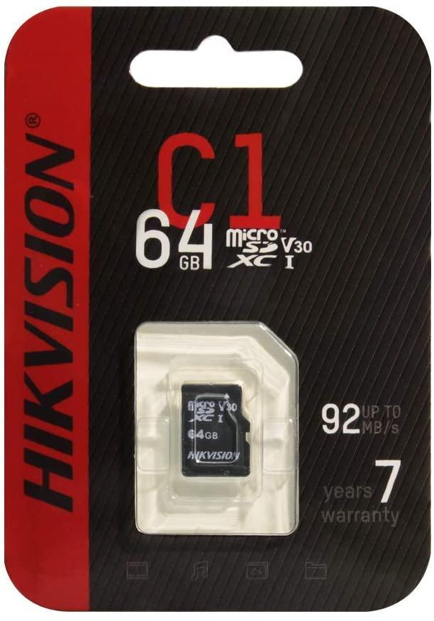 Hikvision Flash SD Card 64GB Micro