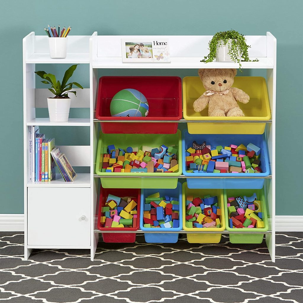 Kid's Shelf Storage