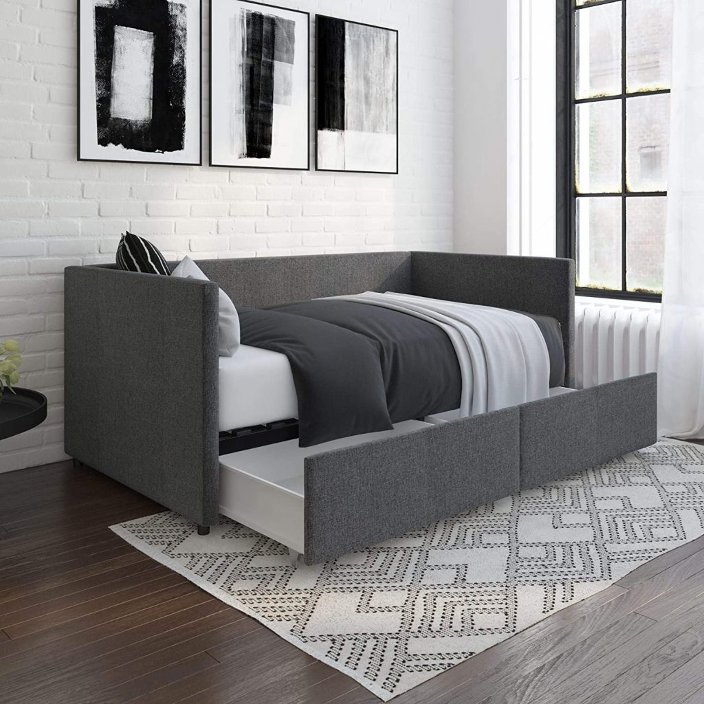 DHP Theo Urban Daybed with Storage Drawers