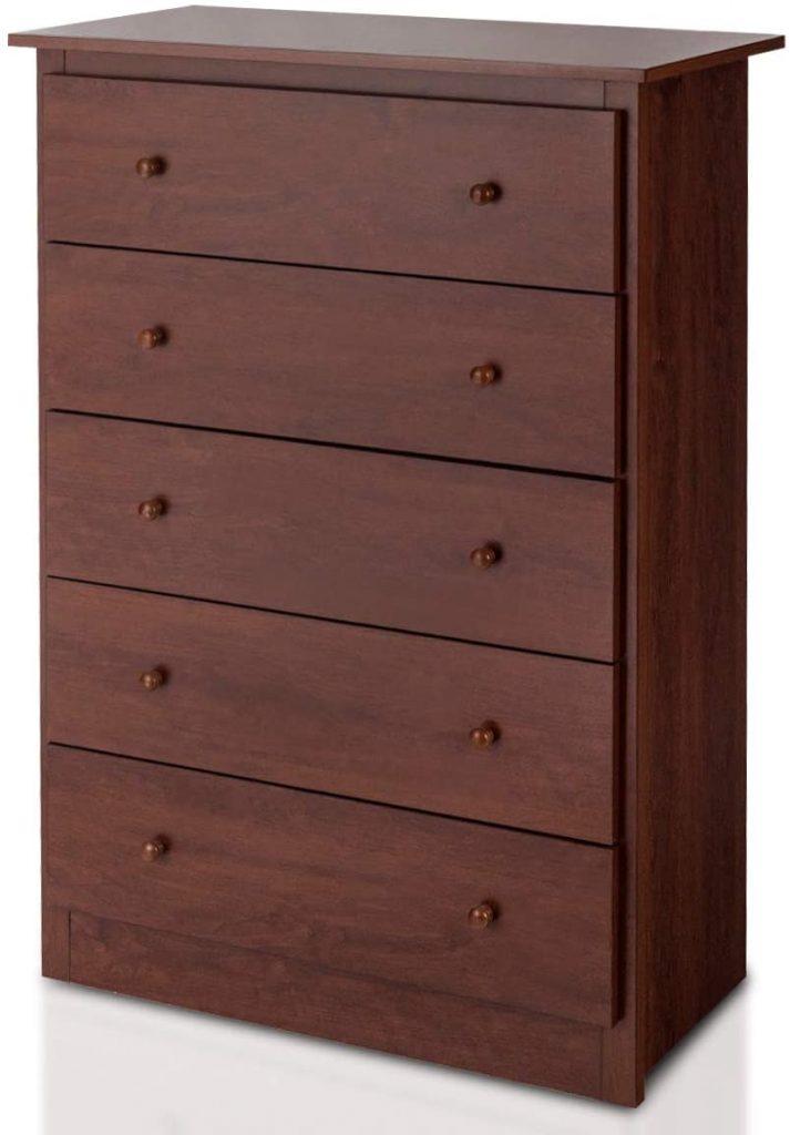 Giantex 5 Drawer Chest, Storage Dresser