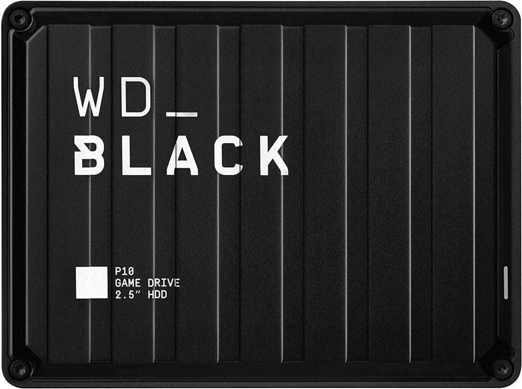 WD Black 4TB P10 Game Drive Portable External Hard Drive Compatible
