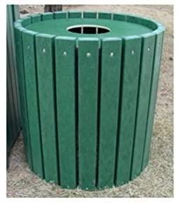 Jayhawk Plastics Heavy-Duty Round 55 Gallon Trash CanJayhawk Plastics Heavy-Duty Round 55 Gallon Trash Can