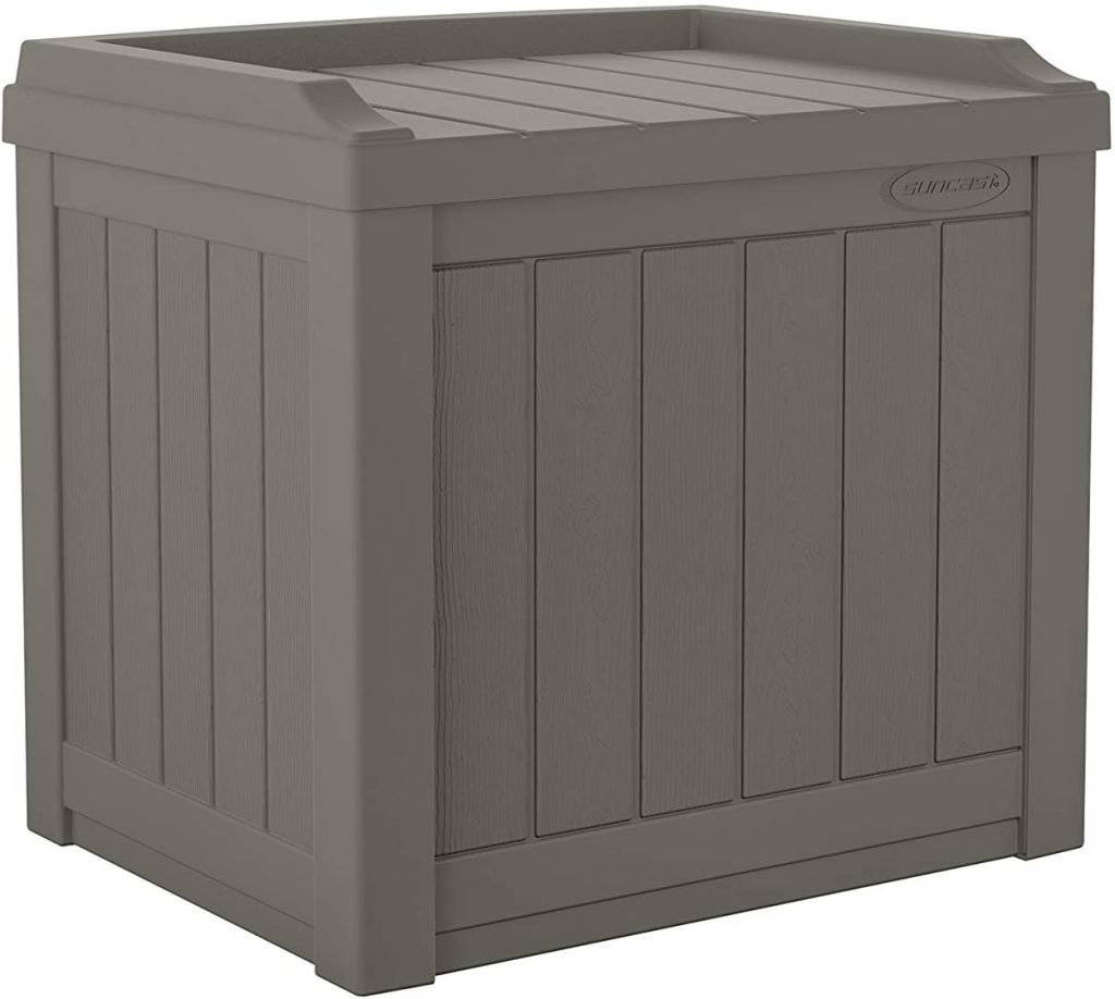 Cube Shaped Outdoor Storage Box
