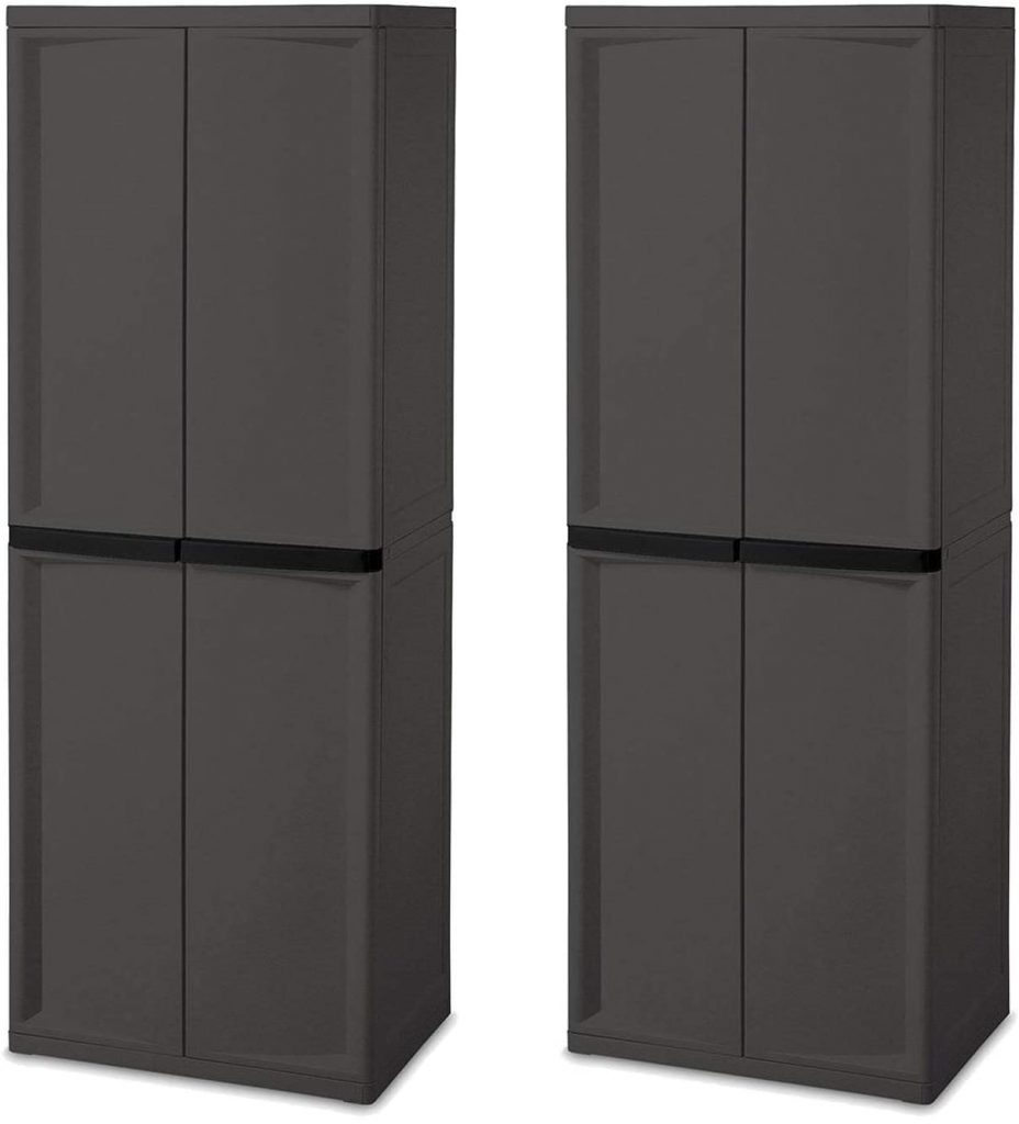 Sterilite 4-Shelf Cabinet