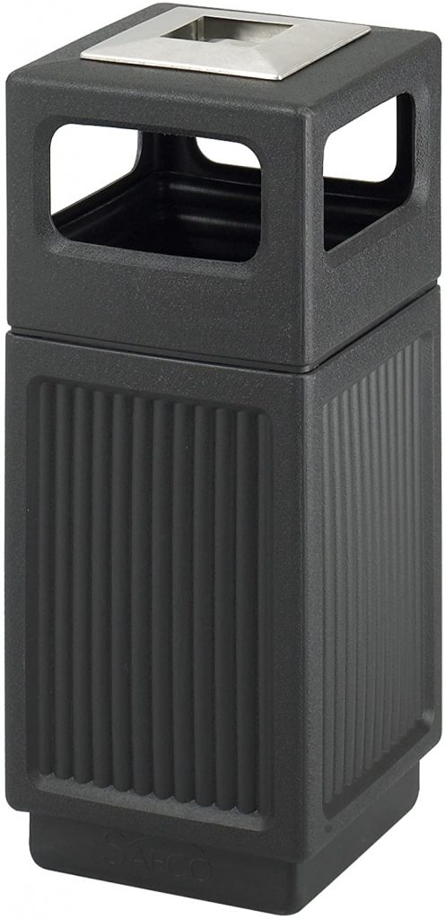 Safco Product Canmeleon 15 Gallon Outdoor Trash Can