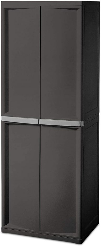 Sterilite 4 Shelf Cabinet