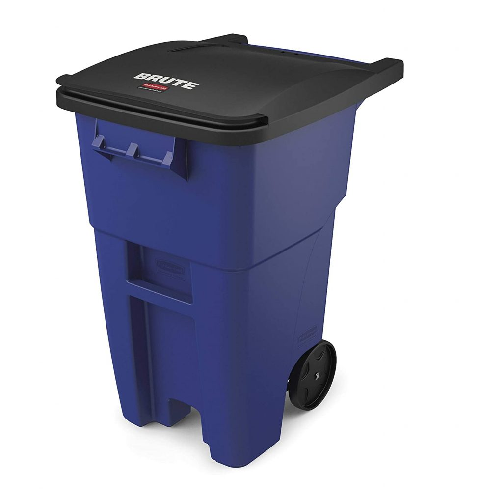 Rubbermaid Rollout Trash Can