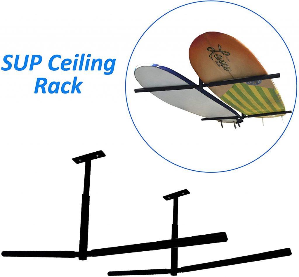 EasyGo SUP Rack Surfboard Overhead Ceiling Lift-for Garage