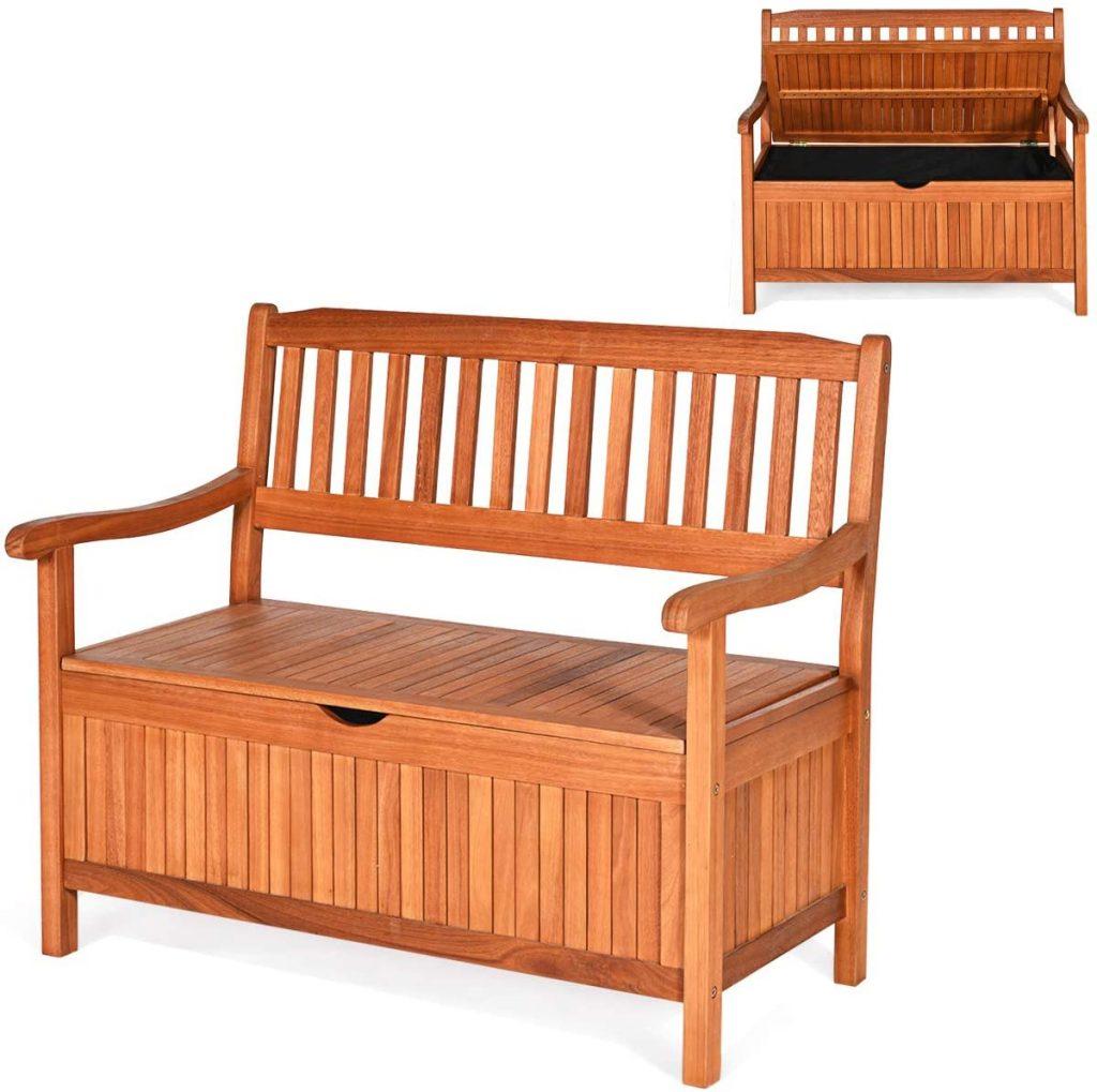 Deck Storage Bench