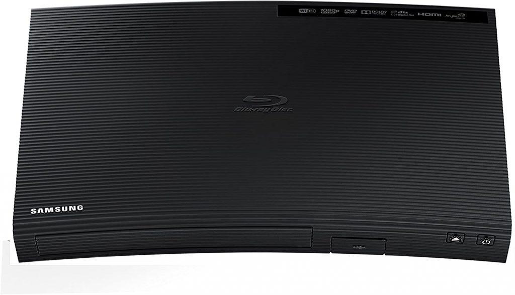 Samsung Curved Blu-Ray Player