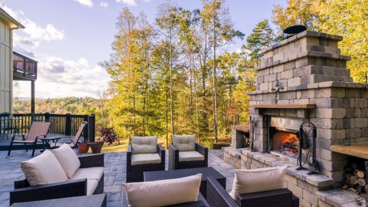 8 Best Outdoor Fireplace Ideas To Keep You Warm Storables