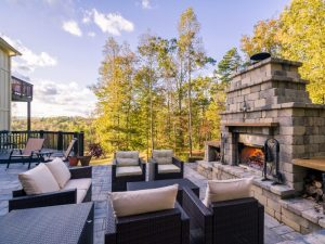 8 Best Outdoor Fireplace Ideas To Keep You Warm