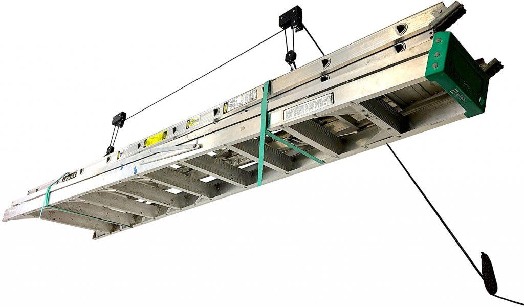 StoreYourBoard Ladder Ceiling Storage Hoist