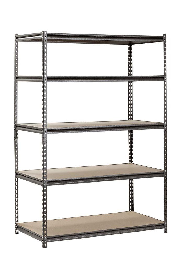 tall garage storage shelves