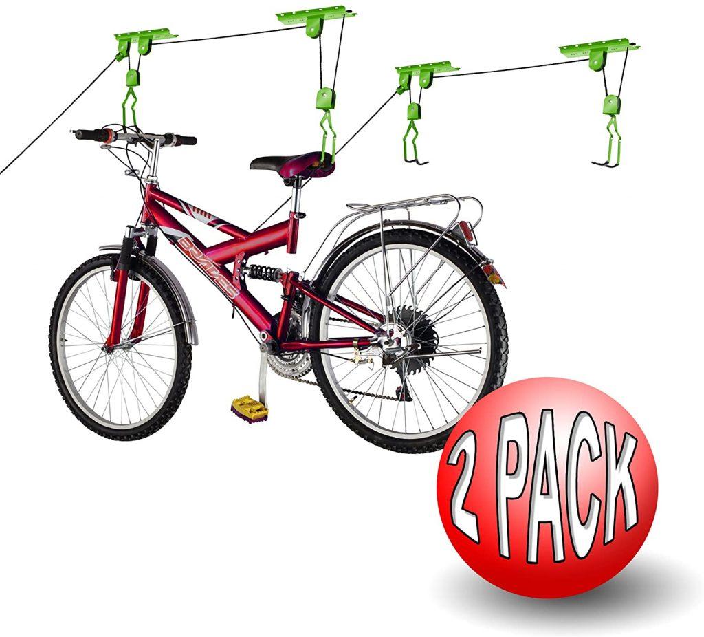 Bike Lane Storage Lift Bike Hoist