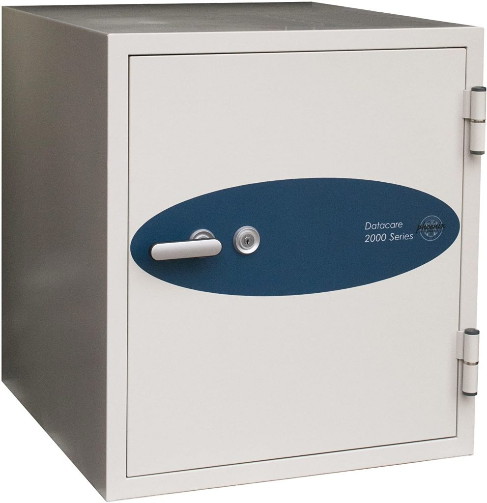Phoenix Datacare 2-Hour Key Lock Fireproof Media Safe