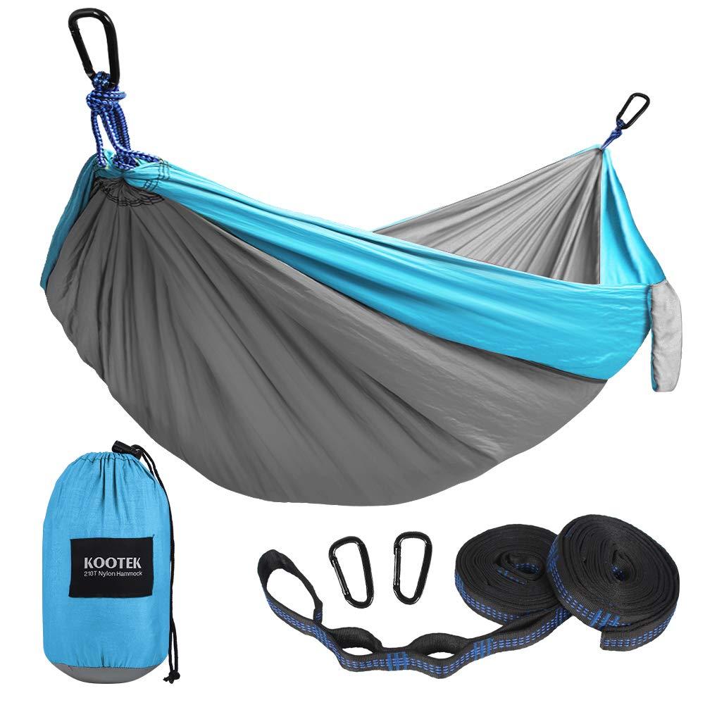 A Lightweight Camping Hammock