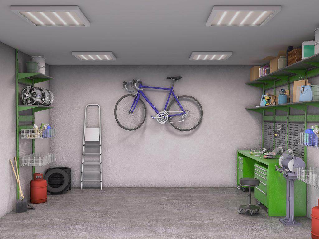 Safe and Clean garage