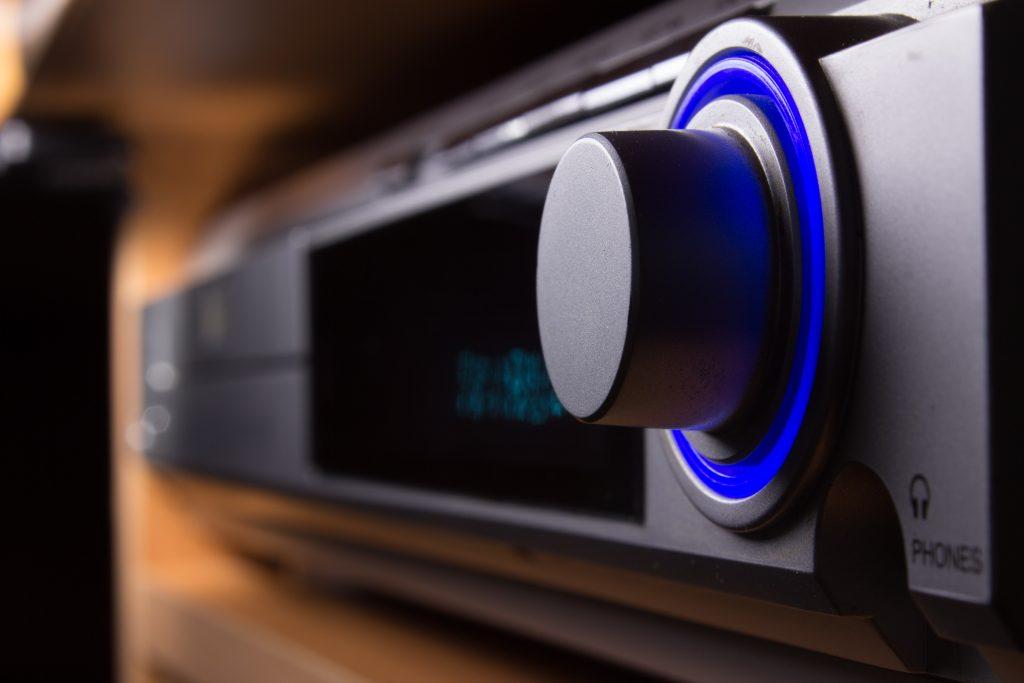 Blu Ray disc player