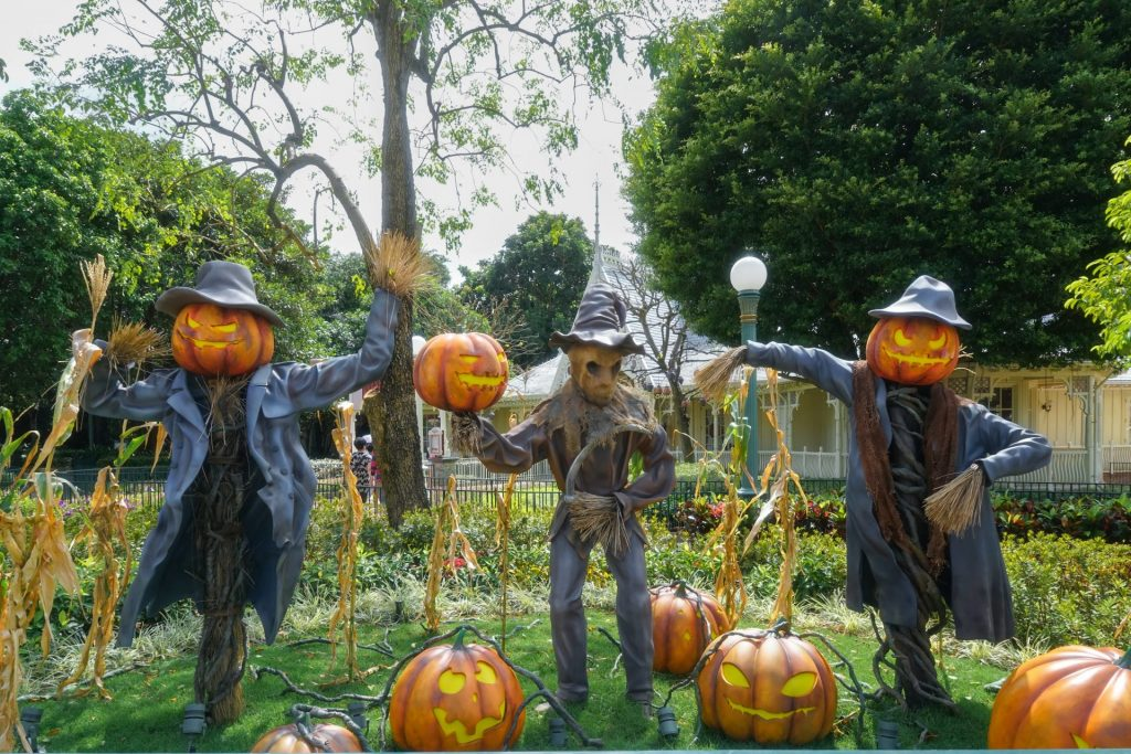 Garden Halloween Party Ideas
