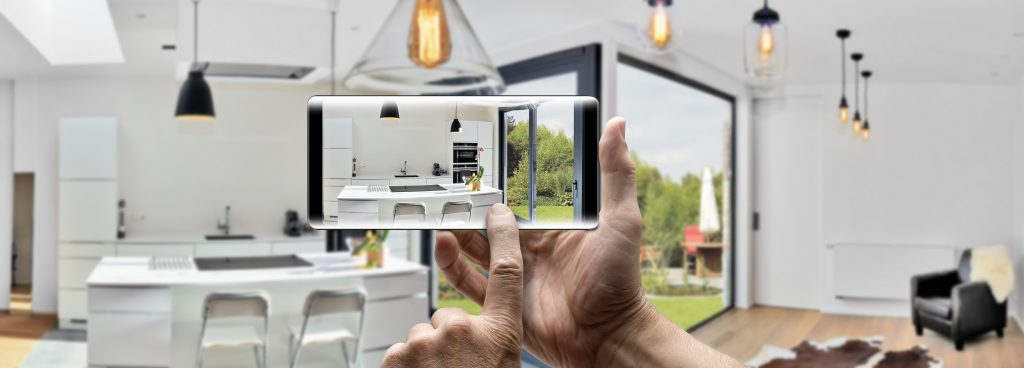 taking pictures of your new home