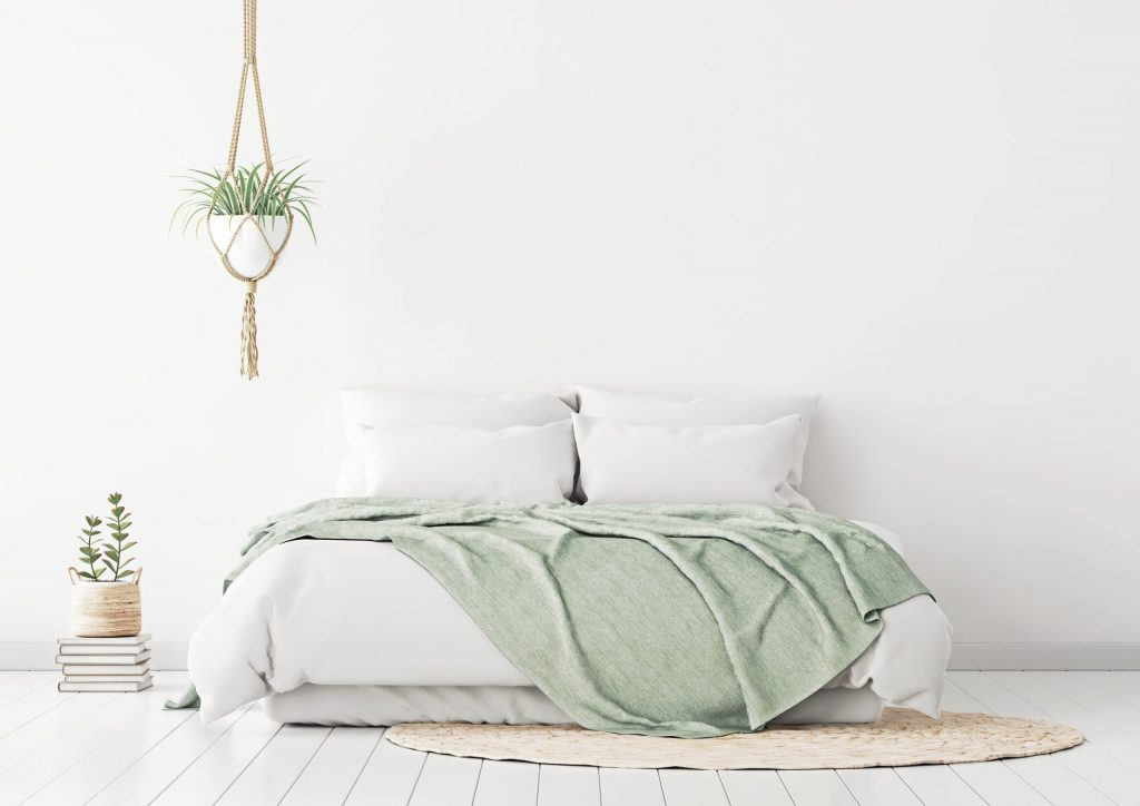 Pure Green Minimalism For A Refreshing Look